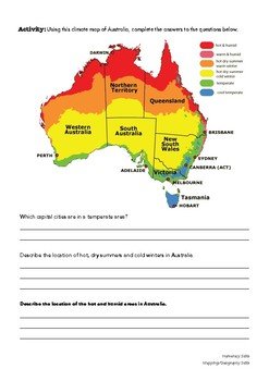 Geography Skills - Data Interpretation