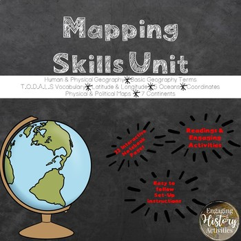 Geography Skills Differentiated Bundle