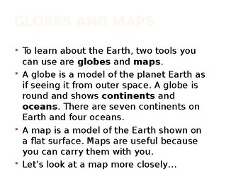 Geography Skills - How To Assess and Understand Maps