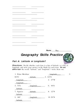 Geography Skills Practice