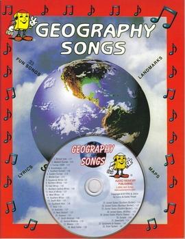Geography Songs CD Kit by Kathy Troxel / Audio Memory
