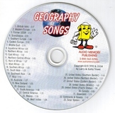 Geography Songs CD by Kathy Troxel / Audio Memory 2014