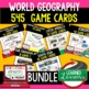 Geography South Asia 34 I Have Who Has Game Cards