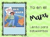 Geography Spanish mini book. Geografia librito para estudiantes
