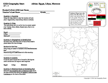 Geography Stars - Learn about Africa!