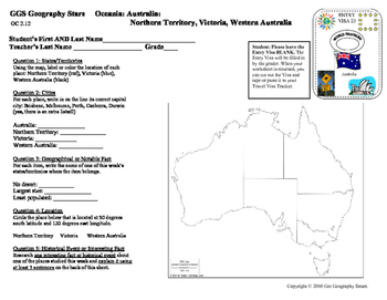 Geography Stars - Learn about Australia and Other Oceania Countries!