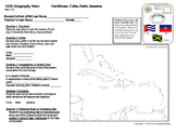 Geography Stars - Learn about Countries of the Caribbean!