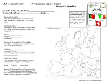 Geography Stars by Get Geography Smart - Learn about the W