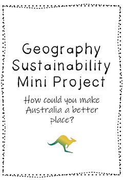 Geography Sustainability Mini Project
