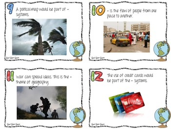 Geography Task Cards