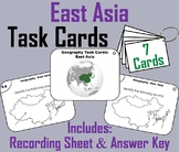 World Geography Task Cards: East Asia Task Cards (Map Skills Unit)