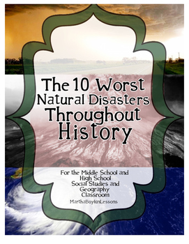 Geography: Ten Worst Natural Disaster of the 20st Century