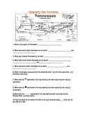 Geography: Tennesse Test