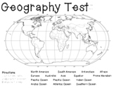 World Geography Assessment