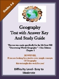 Geography Test