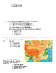 Geography Test (Grade 6 Social Studies Framework Alligned)