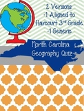 Geography Test and Study Guide (North Carolina and generic versions)