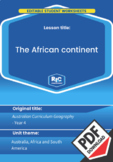 Geography: The African continent