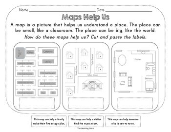 Geography - The World in Spatial Terms (Map Skills)