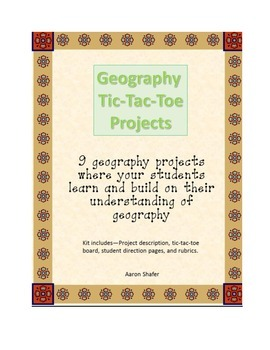 Geography Tic-Tac-Toe Projects