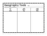 Geography Tools Graphic Organizer