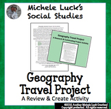 Geography Travel the World Semester Research Cumulative Project