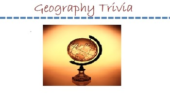 Geography Trivia