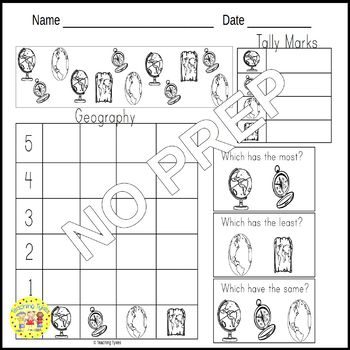 Geography Worksheets Activities Games Printables and More