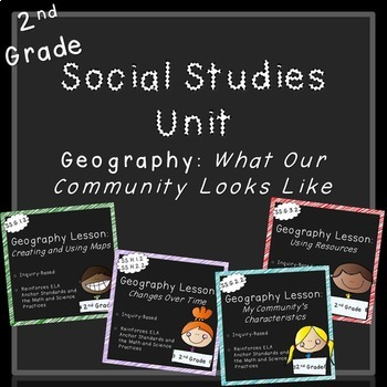 Geography Unit (2nd Grade, Standards Aligned)
