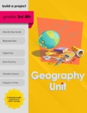 Geography Unit: States and Capitals 3rd-8th Grade