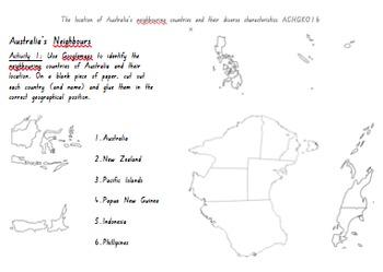 Geography Unit - Australia - Australian Curriculum Outcomes