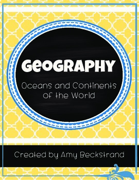 Geography Unit: Continents and Oceans