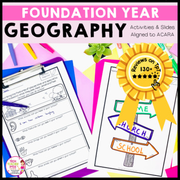 HASS Geography Unit Foundation Year special places, features, mapping activities