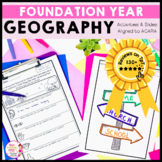 Geography Unit Foundation Year special places, features, mapping activities HASS