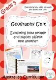 Geography Unit Grade 5 Australia
