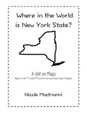 Geography Unit Plan - Where in the World is NYS?