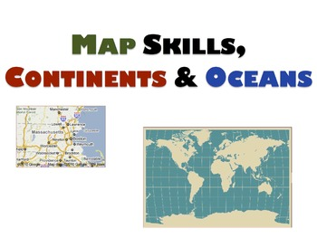 Geography Unit & Student Workbooks - Grades 1 & 2