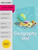 Geography Unit - U.S. State and Capitals, Oceans, Continen