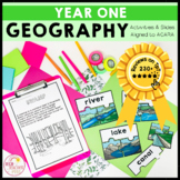 Geography Unit Year 1 Places and Spaces aligned Australian Curriculum HASS