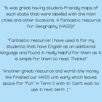 HASS Geography Unit Year 2 Maps Local, Regional and National Scale