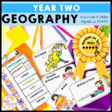 Geography Unit Year 2 Maps Local, Regional and National Scale HASS