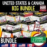 Geography United States and Canada BUNDLE (World Geography Bundle)