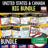 Geography United States and Canada BUNDLE (World Geography