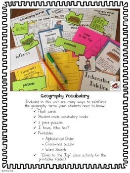Geography Vocabulary