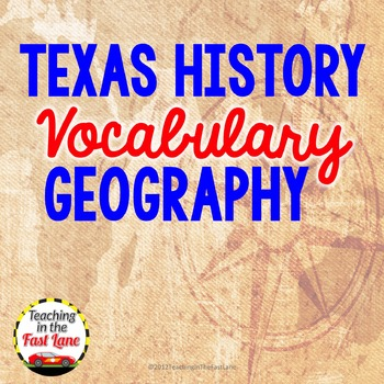 Geography Vocabulary Match Up
