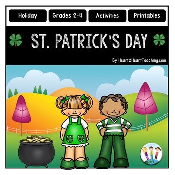 St. Patrick's Day Activity Pack with Articles, Activities & Flip Book