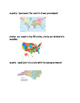 Geography Vocabulary With Pictures