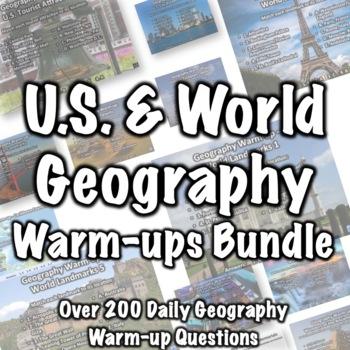 Geography Warmups