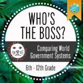 Geography: Who's The Boss? Comparing World Government Systems