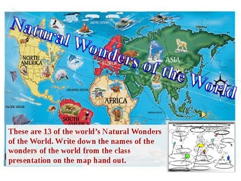 Geography-Wonders of the World